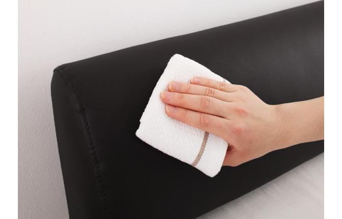 革製のソファーの汚れ
