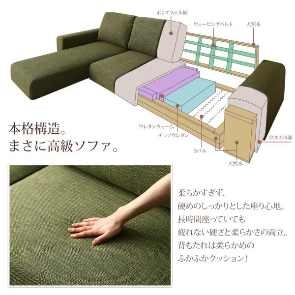 本格構造。まさに高級ソファ
