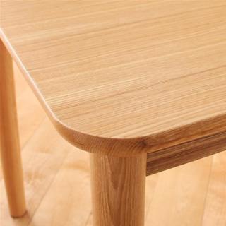 テーブル角の丸み