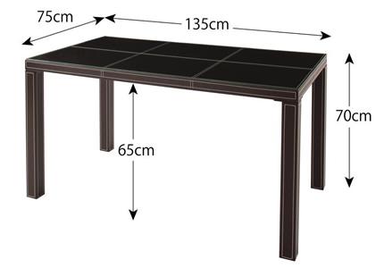 テーブル サイズ