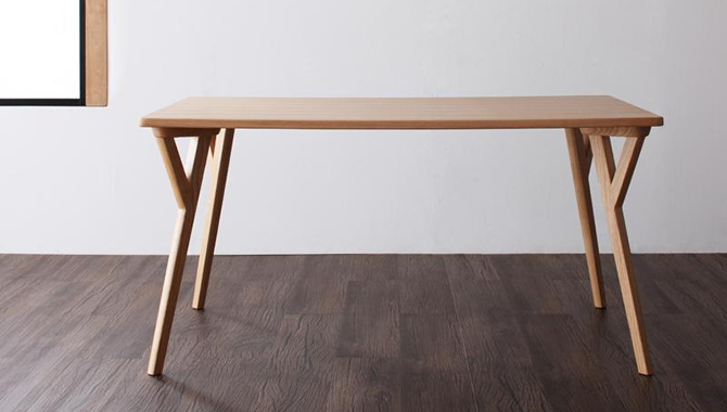 北欧モダンデザインダイニングテーブル 【ILALI】イラーリ