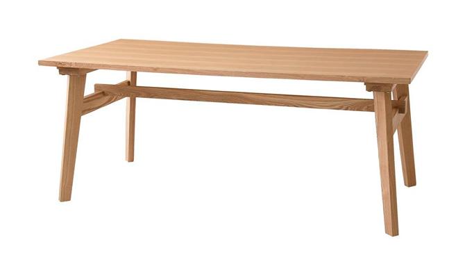 天然木北欧スタイルダイニングテーブル Milkaミルカ激安インテリア