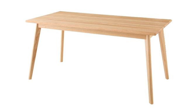 天然木北欧スタイル無垢材ダイニングテーブル 【Nor】ノール
