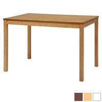 北欧テイストのシンプルダイニングテーブル
