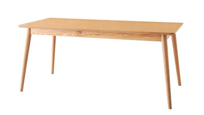 天然木北欧スタイルソファダイニングテーブル 【WOOD LAND】ウッドランド