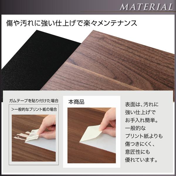 耐熱・耐久性に優れた強化樹脂仕上げ