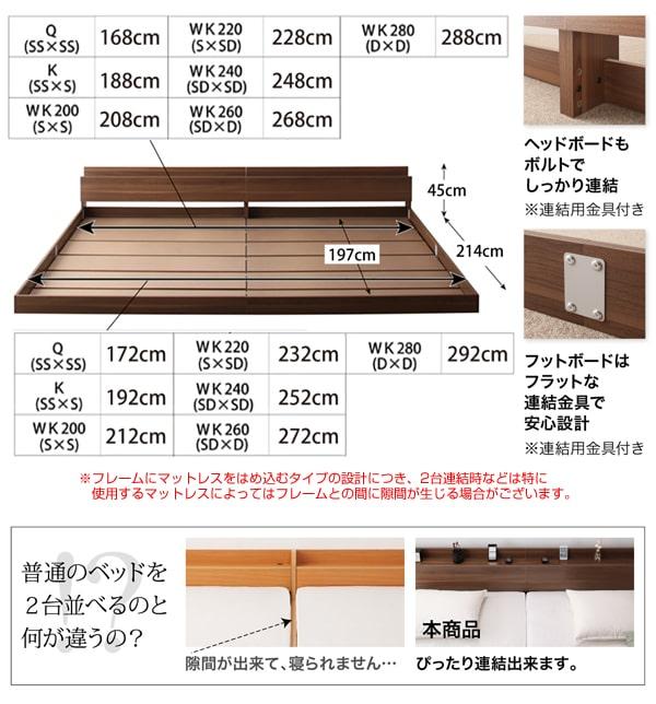 普通のベッドとの違い