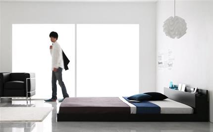 寝室はスマートにかっこよく!