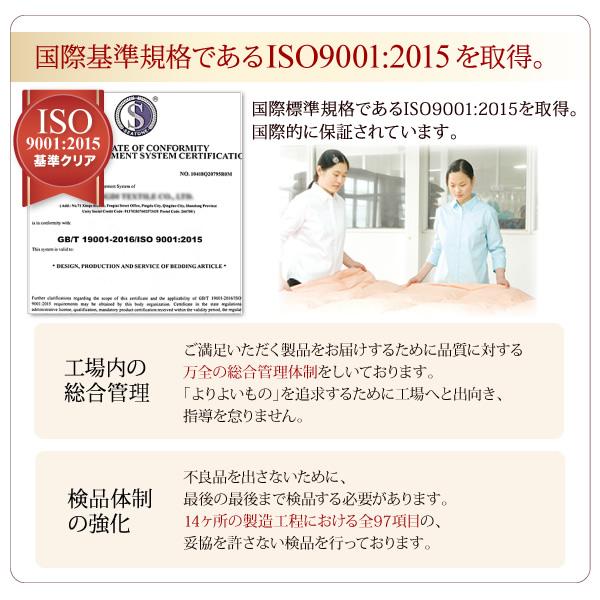国際基準ISO取得