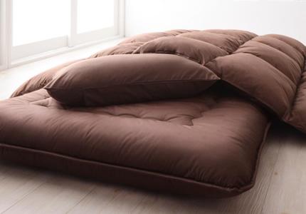 寝具専用シンサレート採用&ボリューム敷き布団
