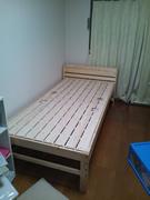 布団が干せるコンセント付すのこベッド 【ほせるんだ】