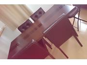 アーバンモダンデザインダイニング5点セット 【MODERNO】モデルノ