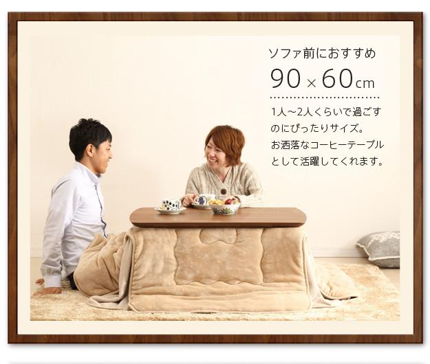90×60cmの特徴