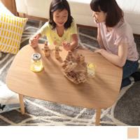 丸くてやさしい北欧デザインこたつテーブル 【Moi】モイ