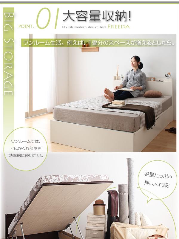 ワンルーム生活。例えば、1畳分の収納スペースが増えるとしたら。