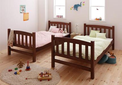 お子様の成長に合わせてずっと使える分割式ベッド