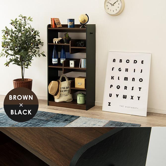 ブラウン×ブラック