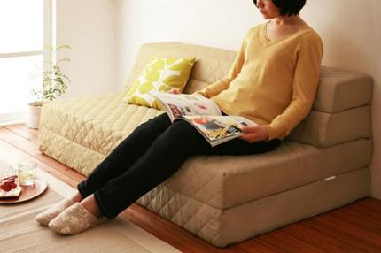 普段はソファーとして