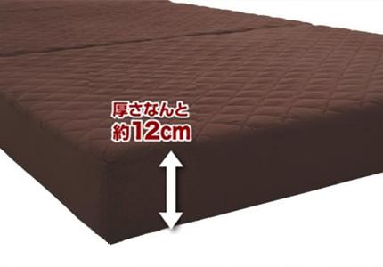 快適な寝心地は十分な「厚さ」にあり