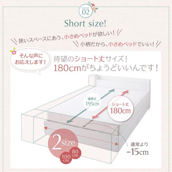 狭いスペースに合うベッド、小柄なので小さめベッドが欲しい