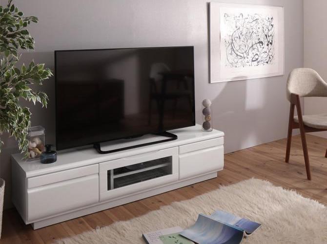 完成品 シンプルデザインテレビボード 【Dotch】ドッチ