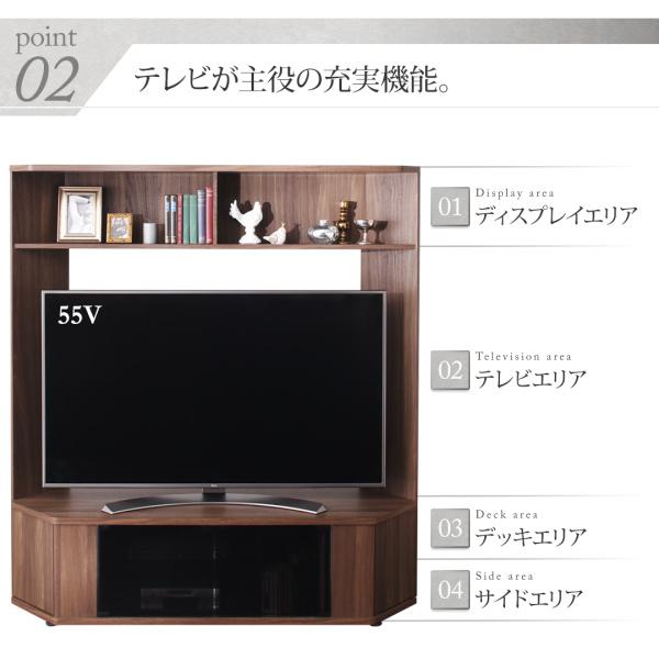 テレビが主役の充実機能