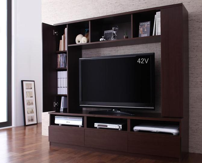 ハイタイプテレビボード 【centre】セントレ