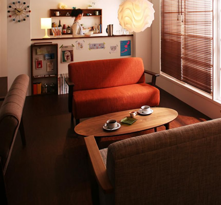 北欧スタイルでお部屋の雰囲気一新