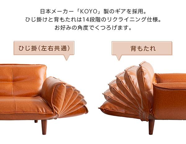日本メーカー「KOYO」製のギアを採用