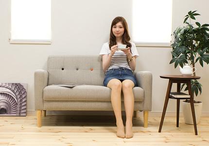 ふんわり+しっかり安定した座り心地