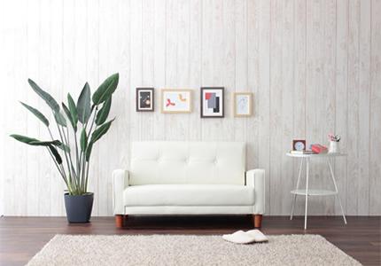 お部屋に馴染むデザインとサイズ感